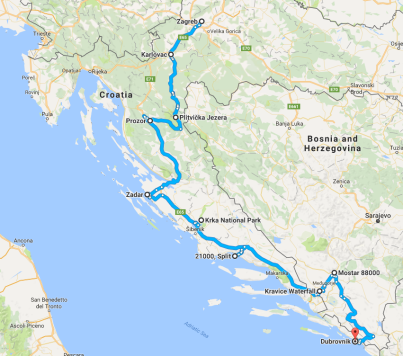 croatia_route